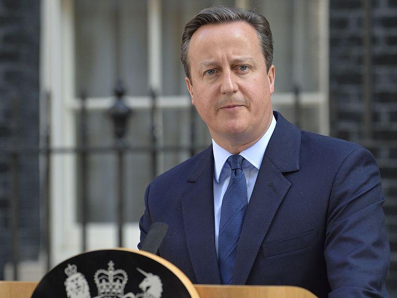 Former British Prime Minister David Cameron (Tom Evans/Wikimedia)