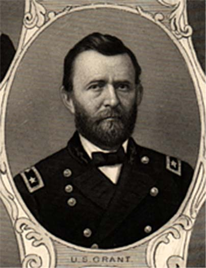 Ulysses S. Grant ( Wikimedia )