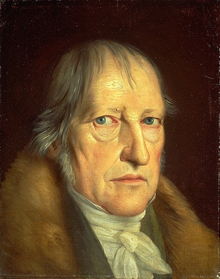 Georg Wilhelm Friedrich Hegel painted by Jakob Schlesinger (Wikimedia)