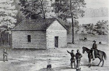 Shiloh Church Before the Battle of Shiloh (Baptists and the American Civil War)