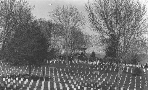 Decoration Day activities at Shiloh National Cemetery, c. 1895 (Shiloh NMP)