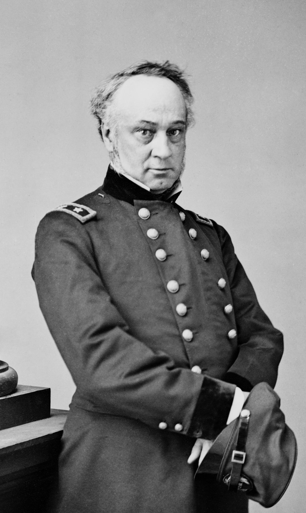 Major General Henry Halleck (Library of Congress/Wikimedia)
