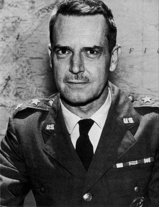 Major General Edward Lansdale, 1963 (US Air Force Photograph  Wikimedia ).