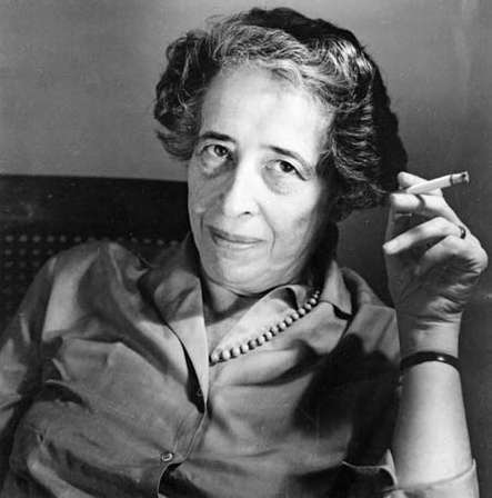 Hannah Arendt (Jewish Chronicle Archive/Heritage-Images)