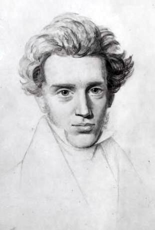 Sketch of Søren Kierkegaard (Wikimedia)