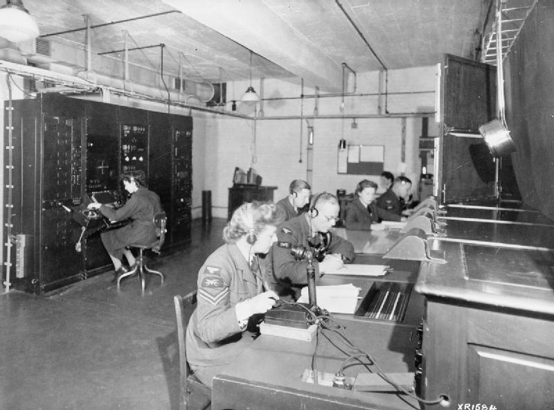 East Coast Chain Home Radar Station (RAF Official Photographer/Imperial War Museum/Wikimedia)