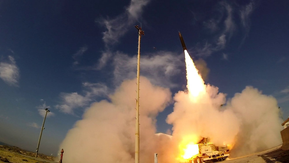 TA test of the Arrow-3 interceptor by the Israel Missile Defense Organization and the U.S. Missile Defense Agency. (MDA Image)