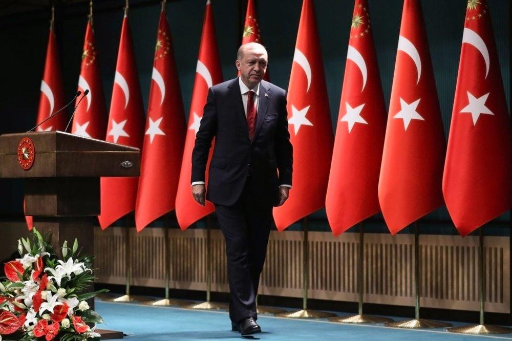 Turkish President Recep Tayyip Erdoğan in Ankara (Adem Altan/AFP/Getty Images)