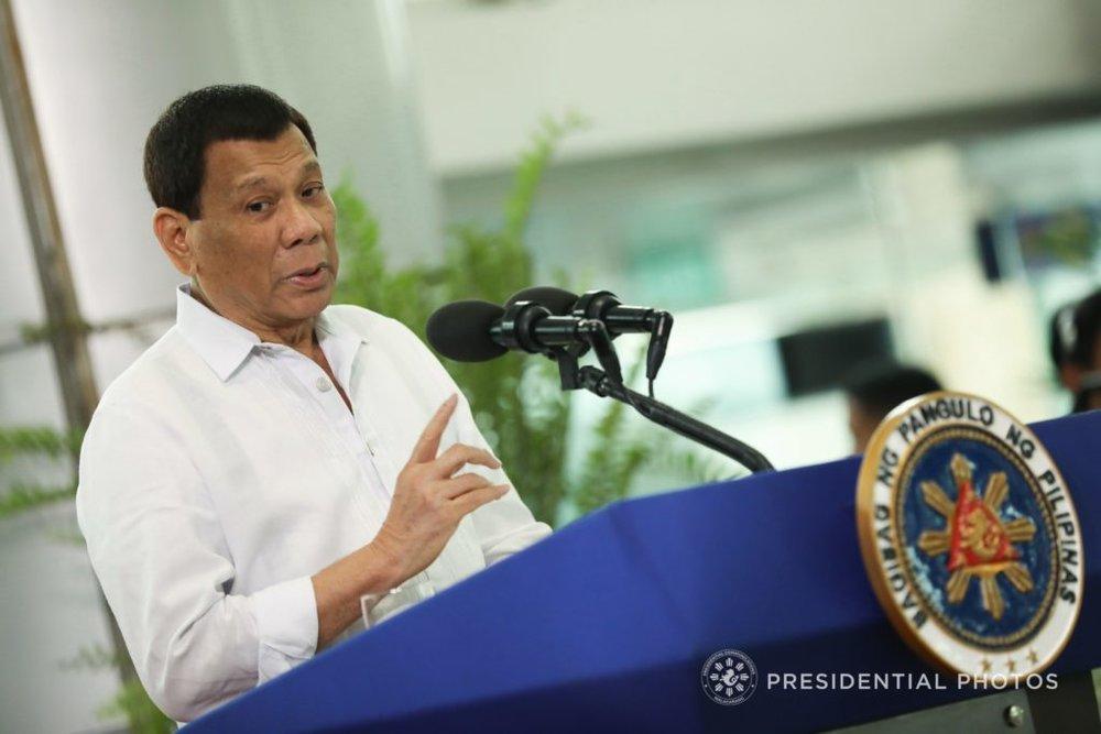 President Rodrigo Duterte. (Presidential Photo)
