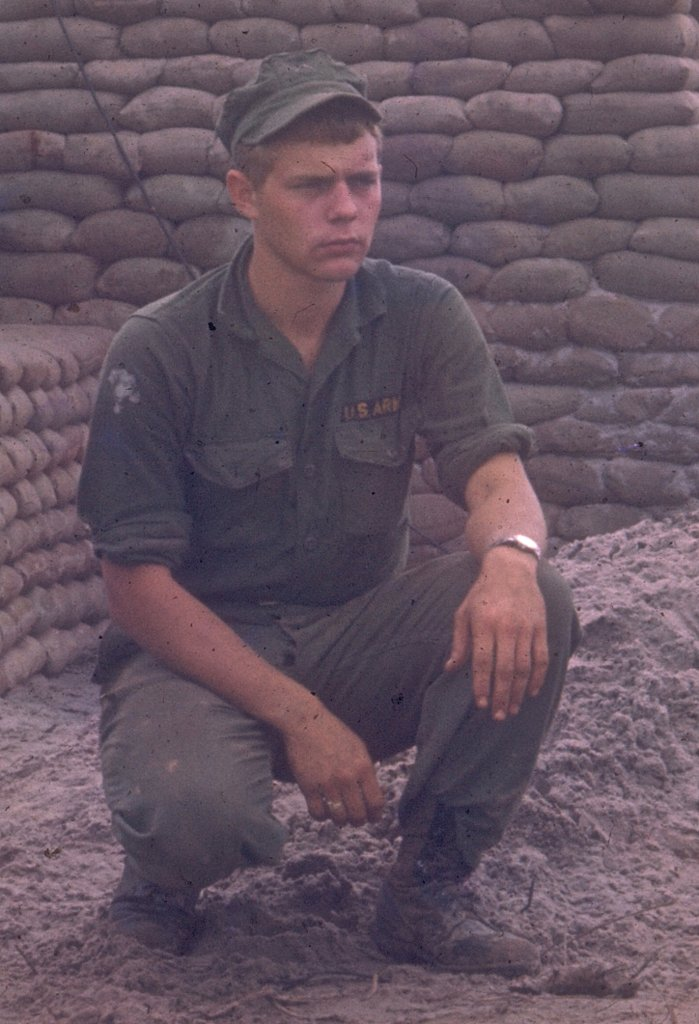Bob Lauver 1967. Battery Area, Dong Ha