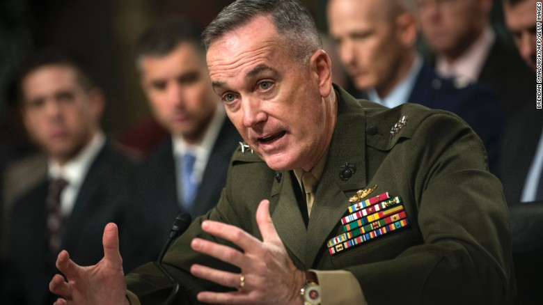 General Joseph Dunford, Chairman of the Joint Chiefs of Staff (CNN)