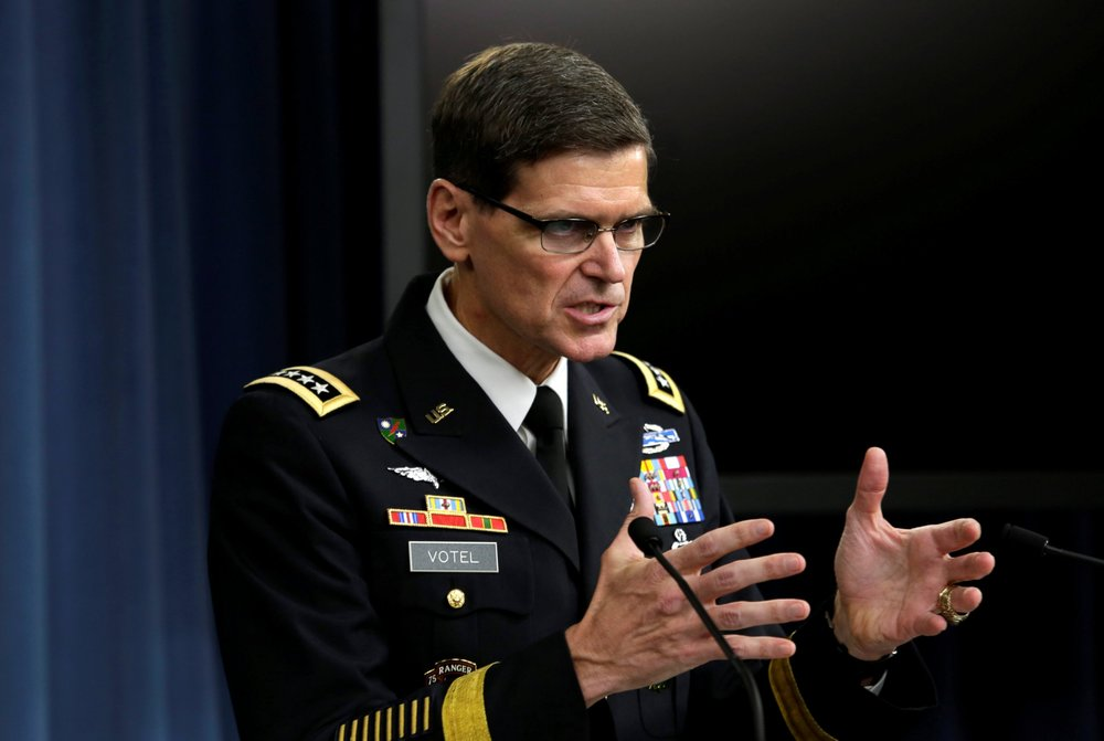 General Joseph Votel, commander of U.S. Central Command, in 2016. (Thomson/Reuters)