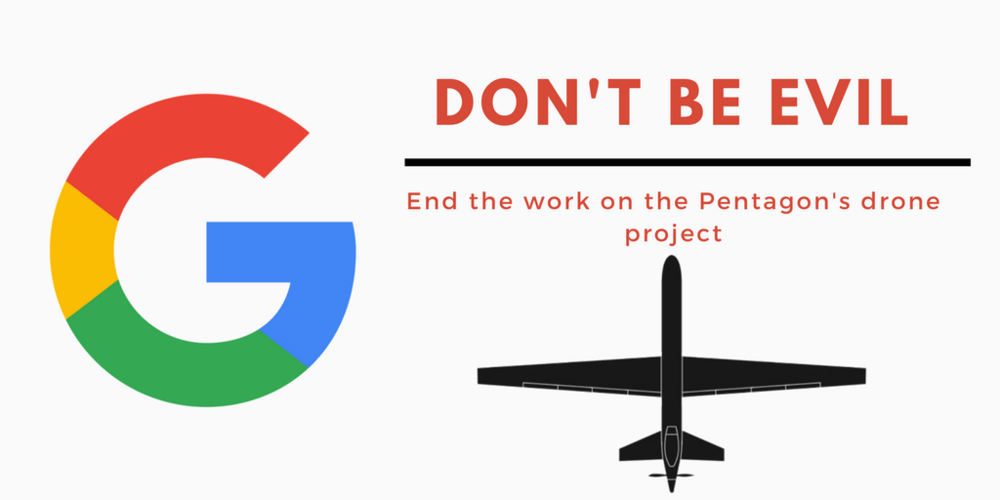 Google Employees Petition Against Project Maven (sUAS News)