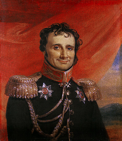 Portrait of Antoine-Henri Jomini by George Dawe (Hermitage Museum/Wikimedia)