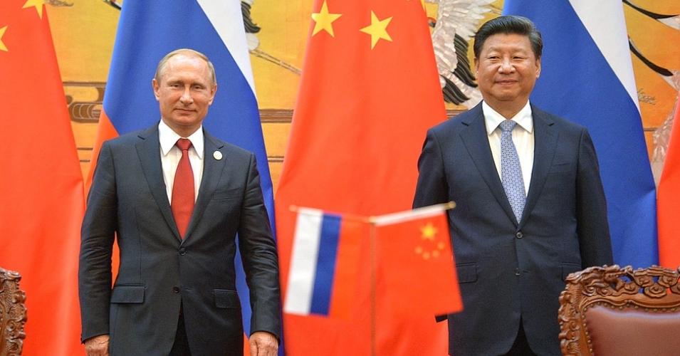 Vladimir Putin and Xi Jinping (Kremlin)