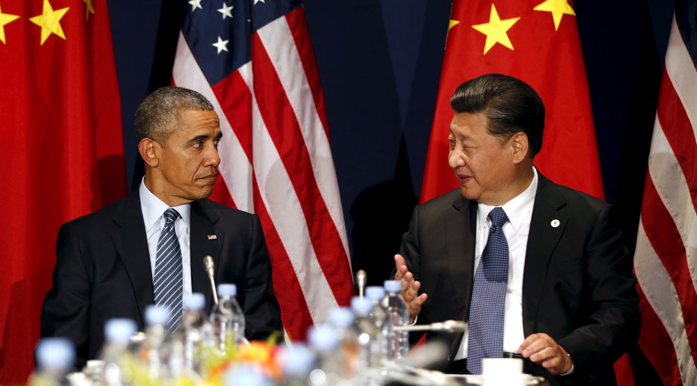 Presidents Barack Obama and Xi Jinping (Brookings)