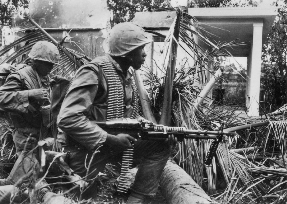 Marines at the Battle of Hue. (H.D.S. Greenway/New York Times)