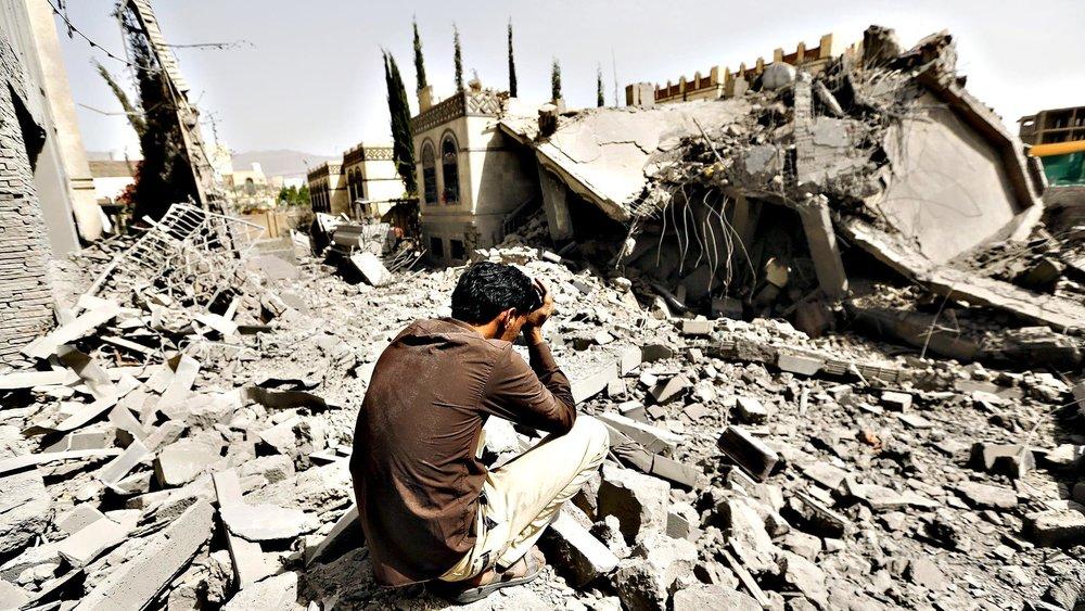 An image from the civil war in Yemen (Al Jazeera)