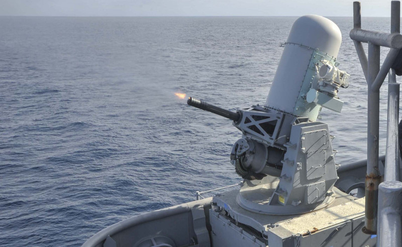 Lethal autonomous weapons are already in use…depending on the definition. The Phalanx is a radar-guided cannon. (U.S. Navy Photo)