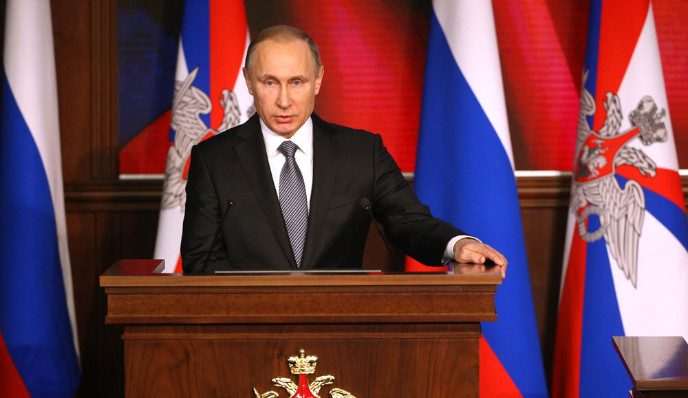 Russian President Vladimir Putin in 2015. (Sasha Mordovets/Getty Images)