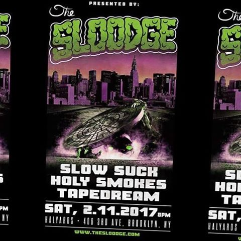 This Saturday night, we'll be playing at Halyards in Brooklyn with our friends @slowsucknyc and @tapedream. Presented to you by @thesloodge. Donations are suggested. See you there