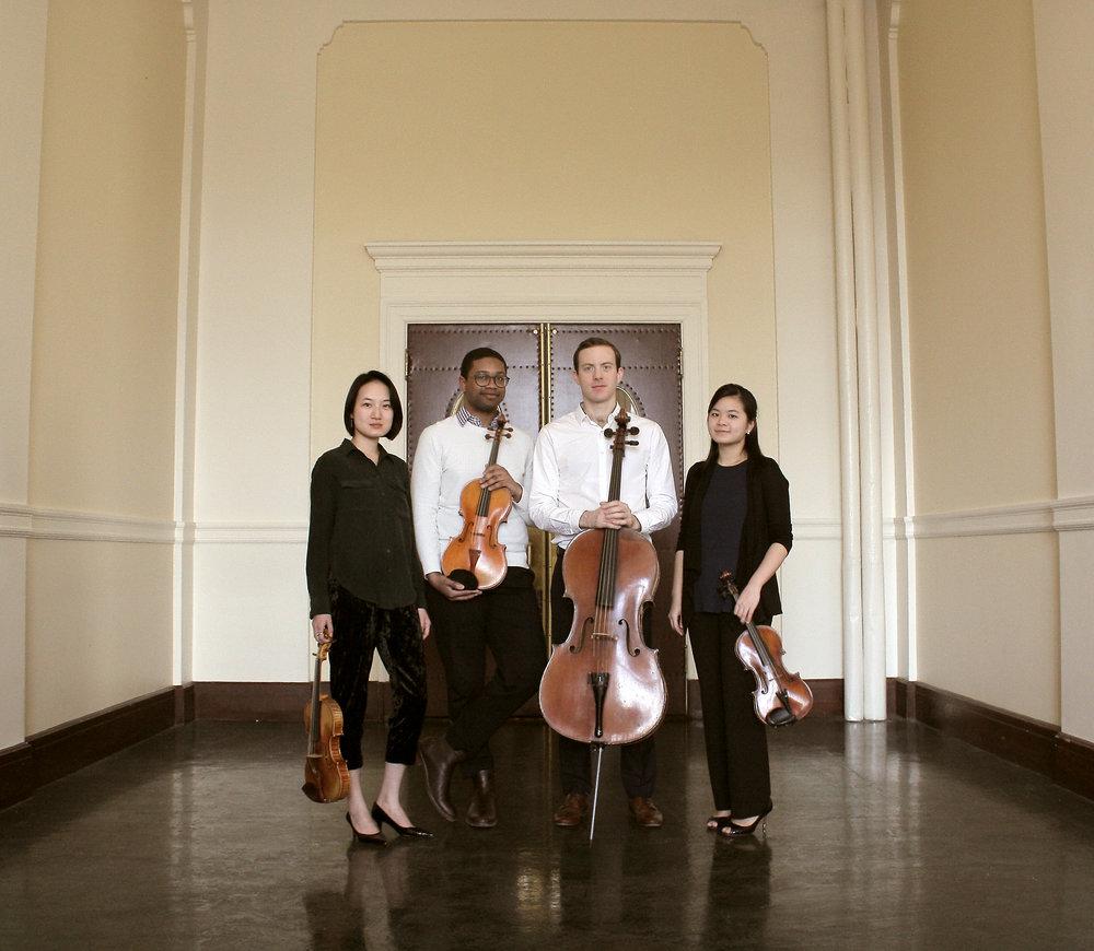 Petrucci Quartet - Li-Mei Liang, violin; David Mason, viola; Joseph Gotoff, cello
