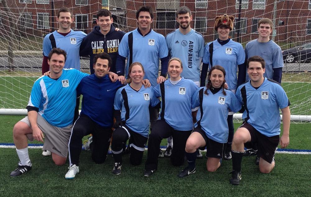My championship soccer team