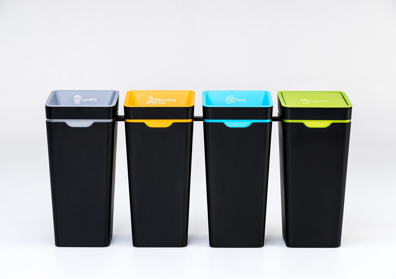method office recycling bins made beautiful new zealand
