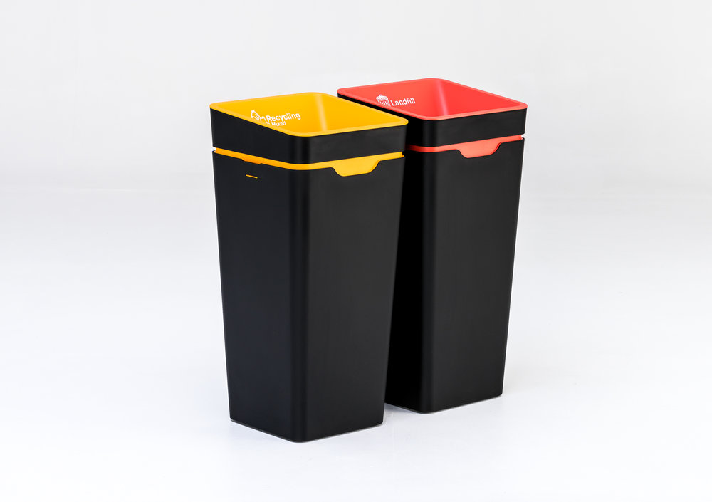 Captivating Method   Office Recycling Bins Made Beautiful   New Zealand