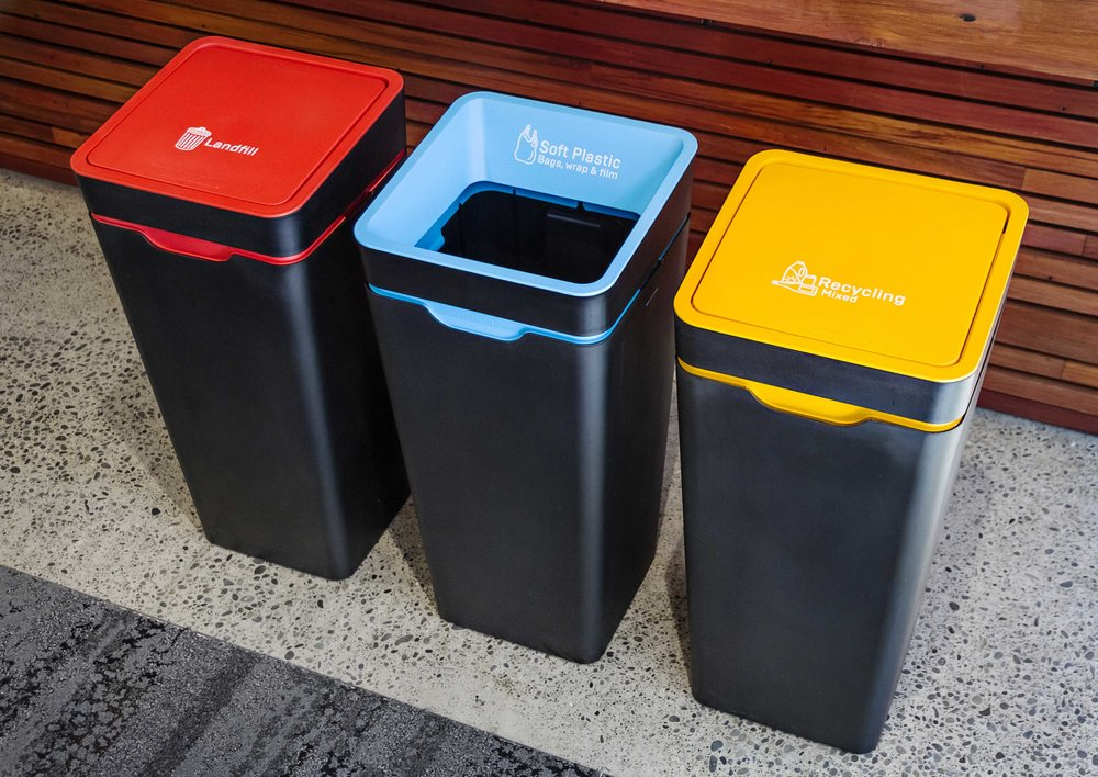 Method Office Recycling Station   Out And Proud As Part Of The Communal  Workspace