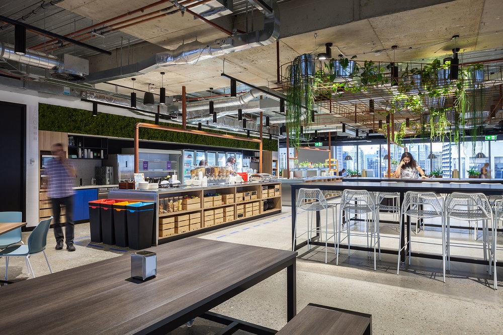 Atlassian's Sydney offices