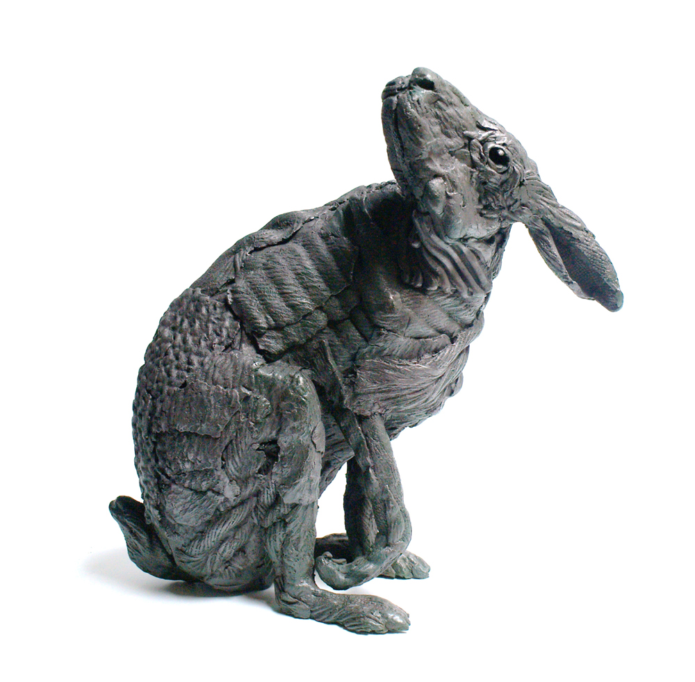 Hare after Ts'ui Po - bronze sculpture