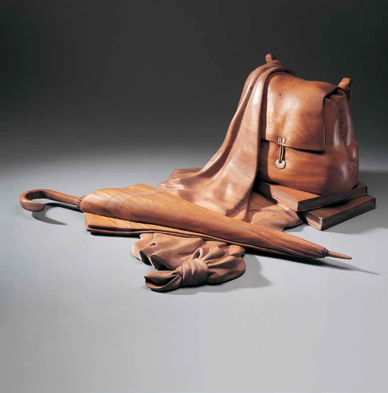 Welcome Hanni, 1997, Laminated mahogany, 31 x 65 x 67.5 cm