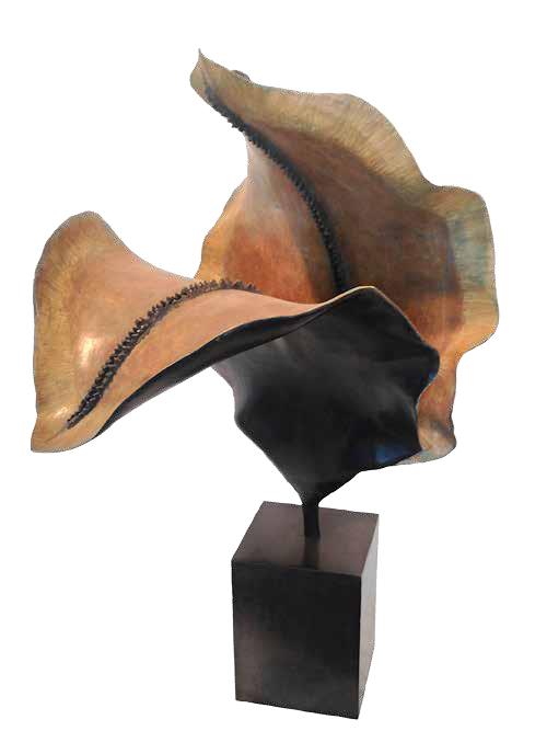 Jacaranda, 2003, bronze, 80 x 38 x 39 cm