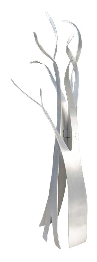 Tree, 2004, aluminium, 250 x 130 x 140 cm