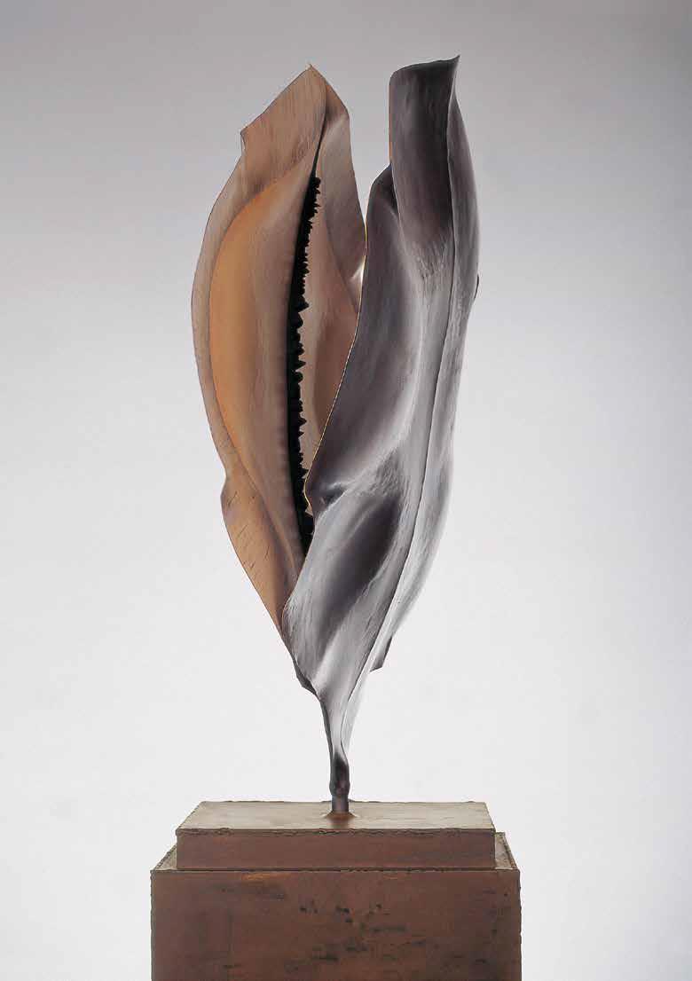 Jacaranda, 2003, oxidized steel, 214 x 96.5 x 32 cm