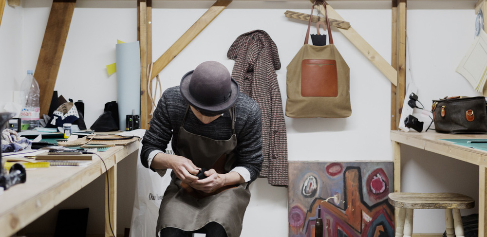 Ej So, one of the artisans renting a studio space at The Parachute Collective
