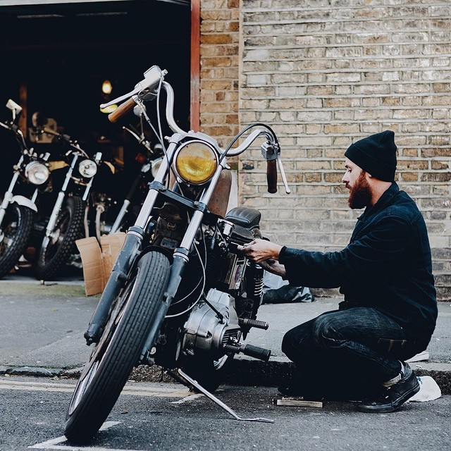 Check out wessel.co for feature on @blackskullslondon #VSCOcam #blackskullslondon #WESSELco #moterbikes