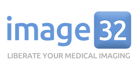 Medical Image Sharing for Doctor and Patients. image32 is a fast and easy way to share medical imaging studies with doctors and patients, across organizations and systems. In seconds, you can upload a study from a CD or PACS, view it online, and share it. The image32 system automatically strips out protected health information (PHI). Once your images are up on image32, you can access and share them from any desktop or mobile device.