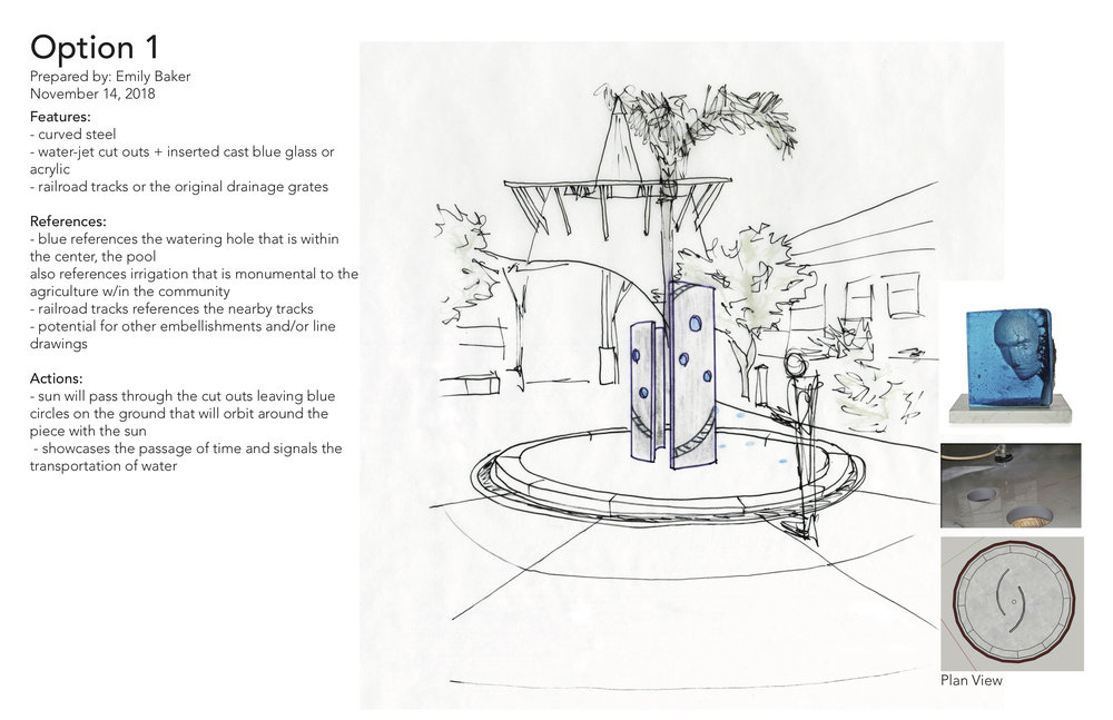 Recently, my design has been selected and I have been commissioned to fabricate and install this work in front of the Abel Maldonado Community Center in Santa Maria, California. It will be the city's first commissioned sculpture.
