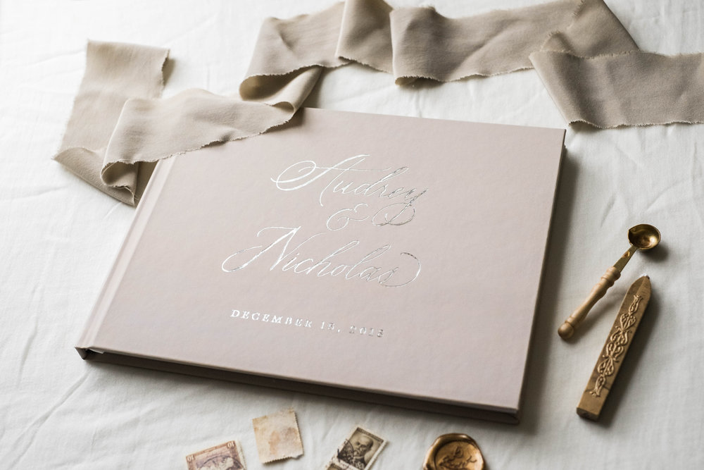 taupe-wedding-guest-book