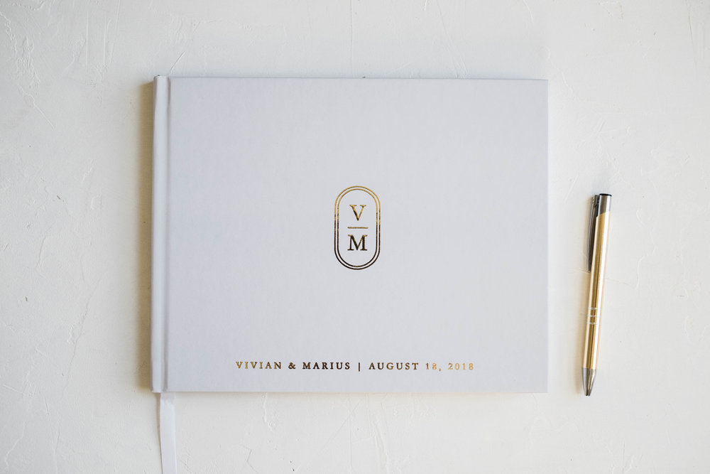 light-gray-wedding-guest-book