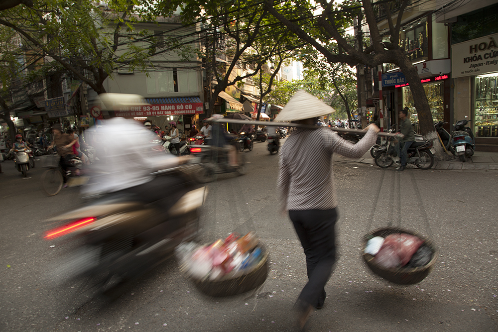 Hanoi is vibrant. I just tingled the whole time we were there.