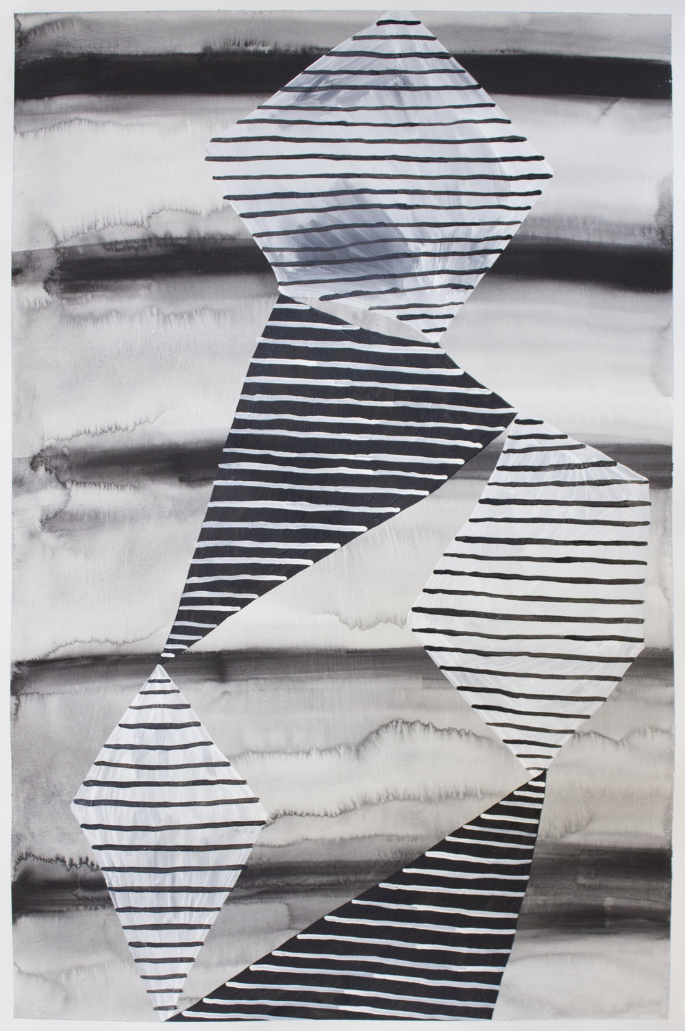 "acrylic on paper  22"" x 15""  2016"