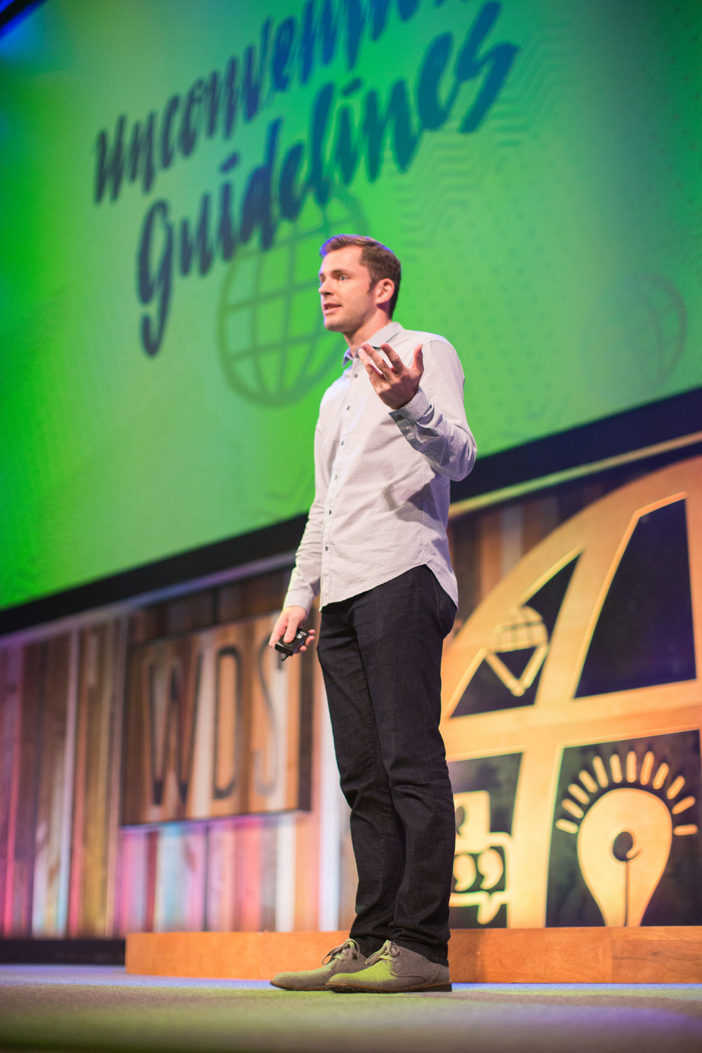 CHRIS GUILLEBEAU, REMARKABLE HOST OF THE WORLD DOMINATION SUMMIT. PHOTO: ARMOSA STUDIOS
