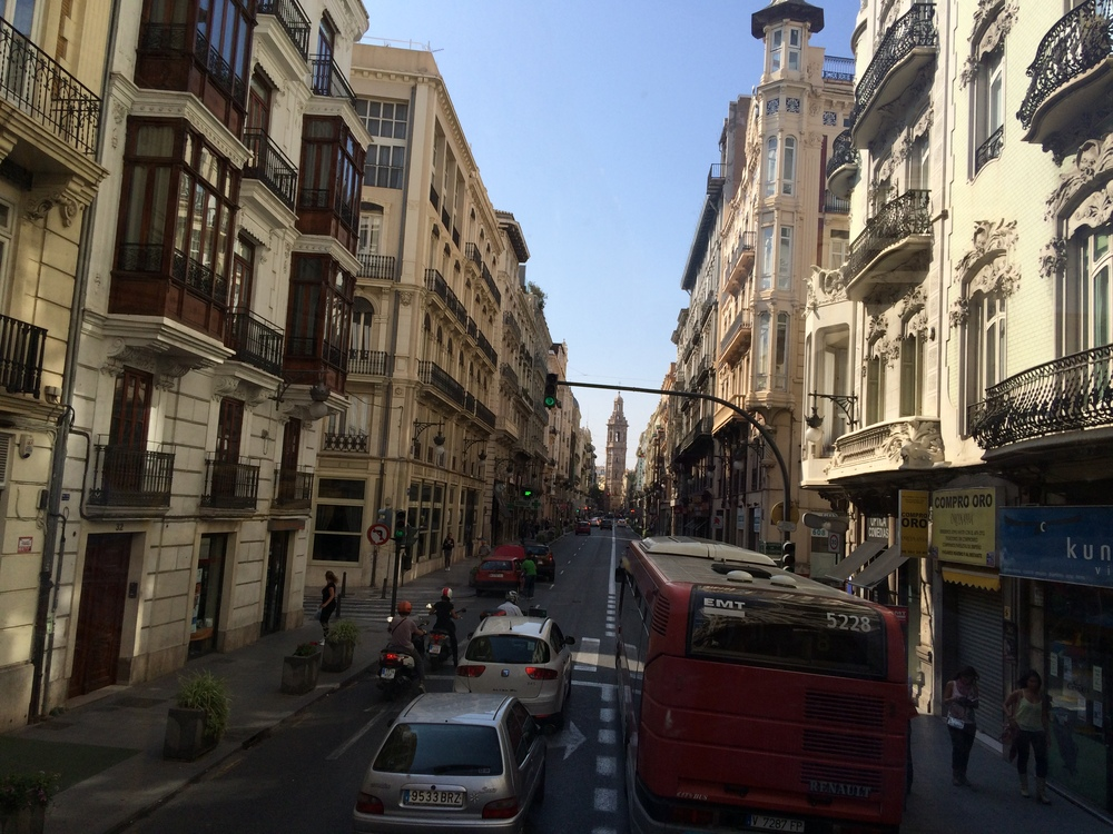 Finding my way in Valencia