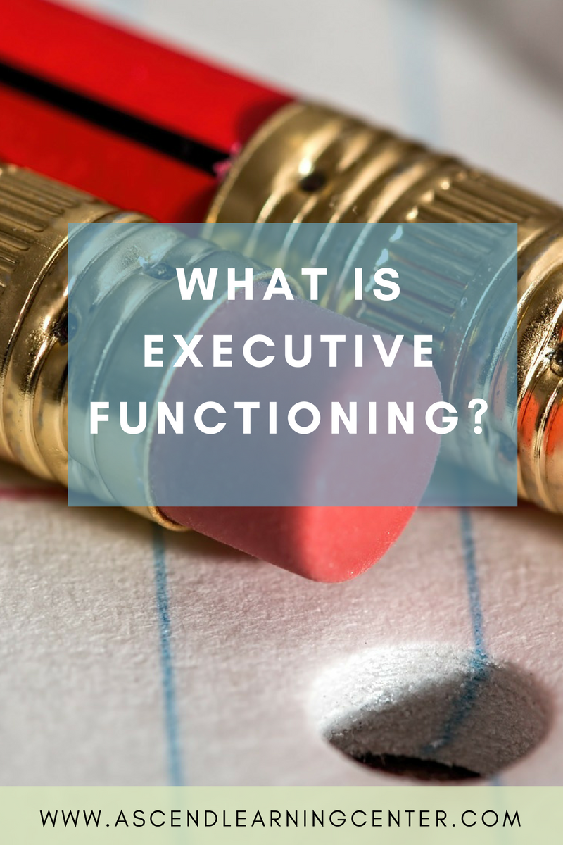 What is Executive Functioning?