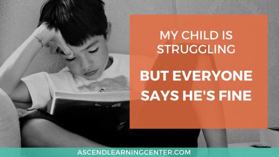 Struggling Dyslexia
