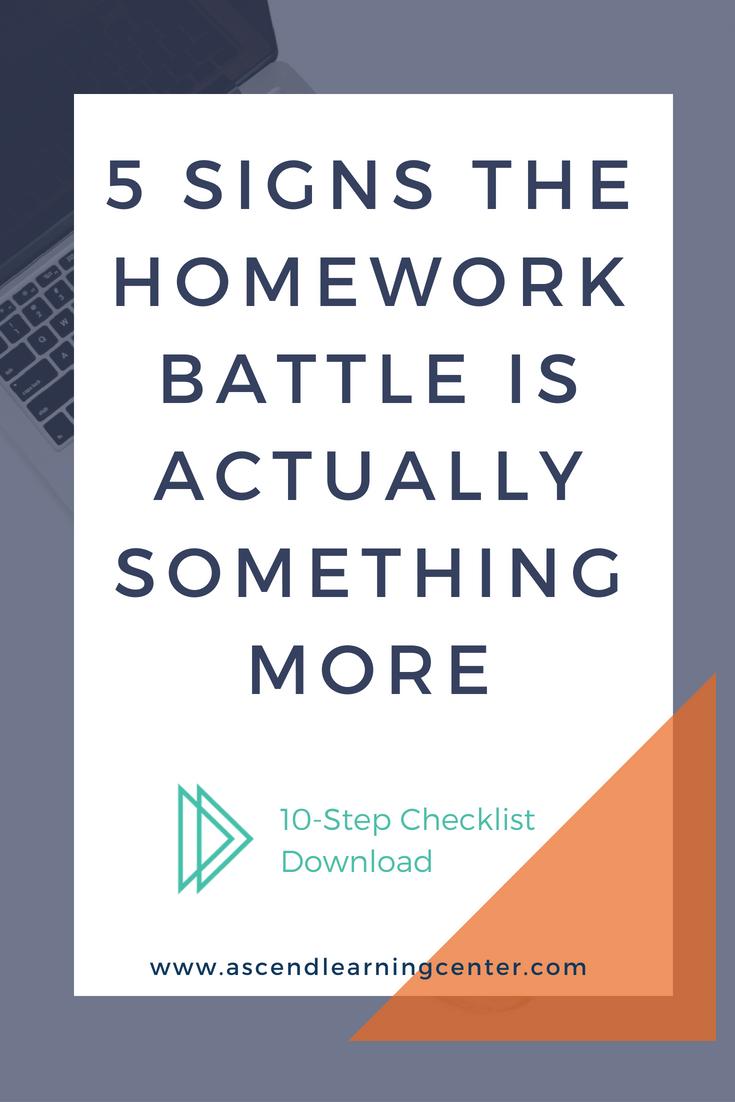 Homework Struggle