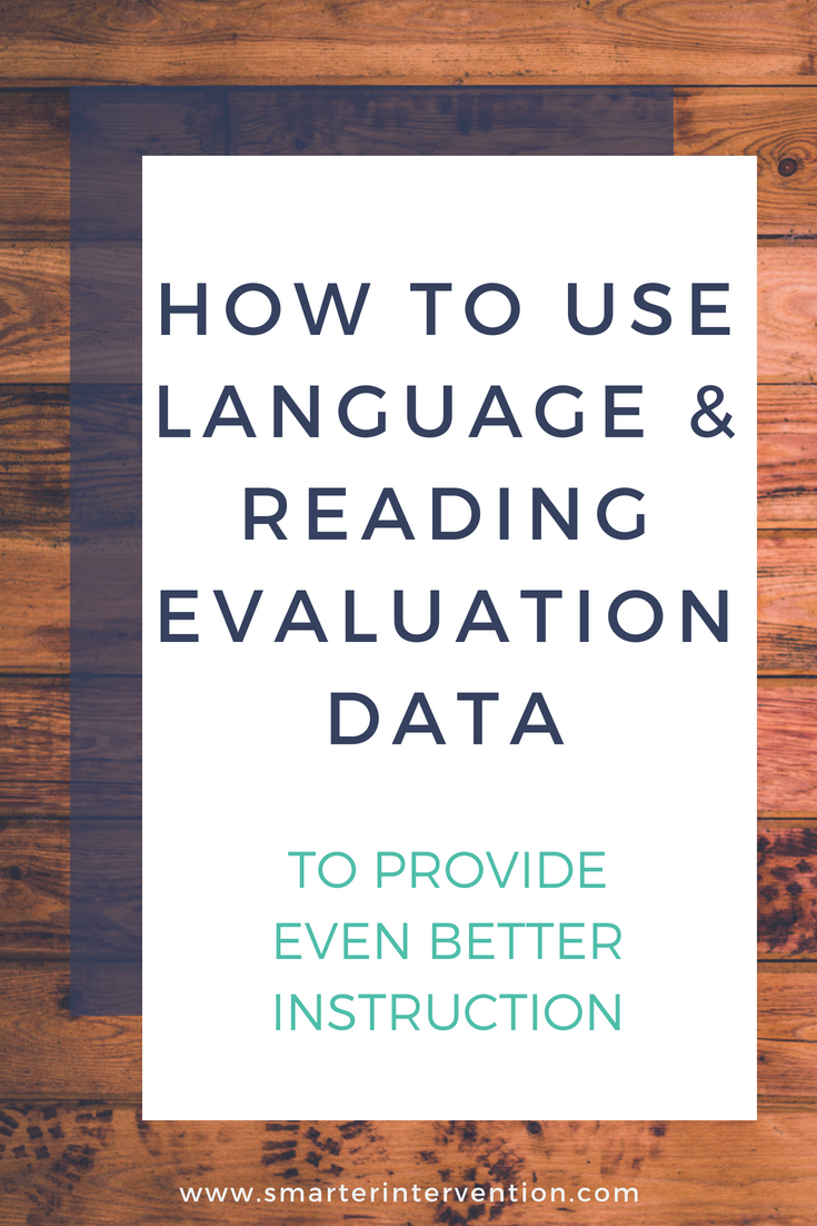 Language and Reading Data